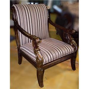 Del Sol Exclusive Montecristo Dundee Dark Brown Chair