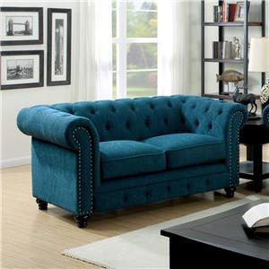 Furniture of America / Import Direct Stanford Love Seat