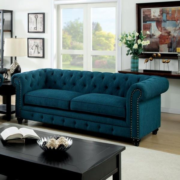 Furniture of America / Import Direct Stanford Sofa - Item Number: CM6269TL-SF