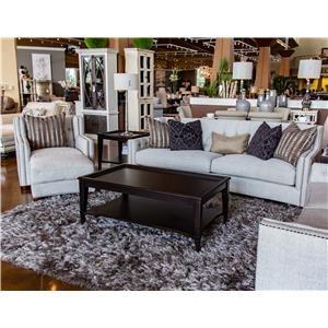 Aria Designs Sonia Sofa, Chair, and Ottoman