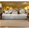 Aria Designs Carlotta Parchment Sofa - Item Number: 45A173S0-6158A-024