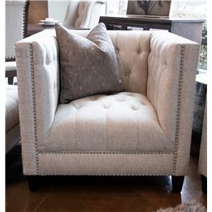 Upholstered Tufted Chair