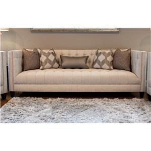 Upholstered Tufted Sofa