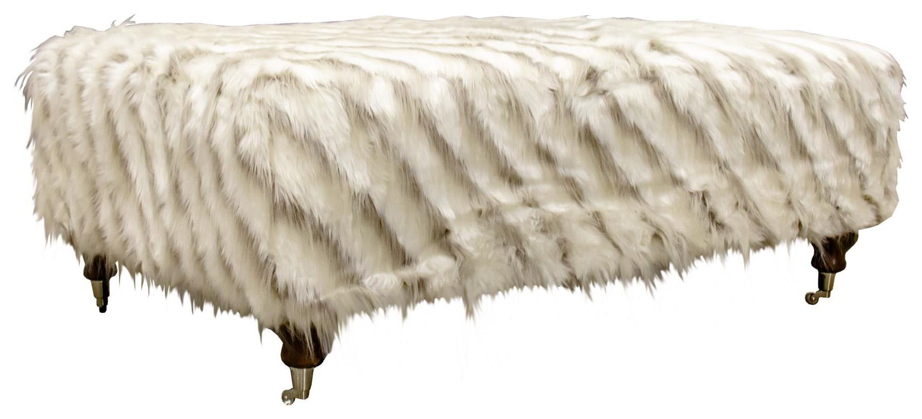 Fur Ottoman