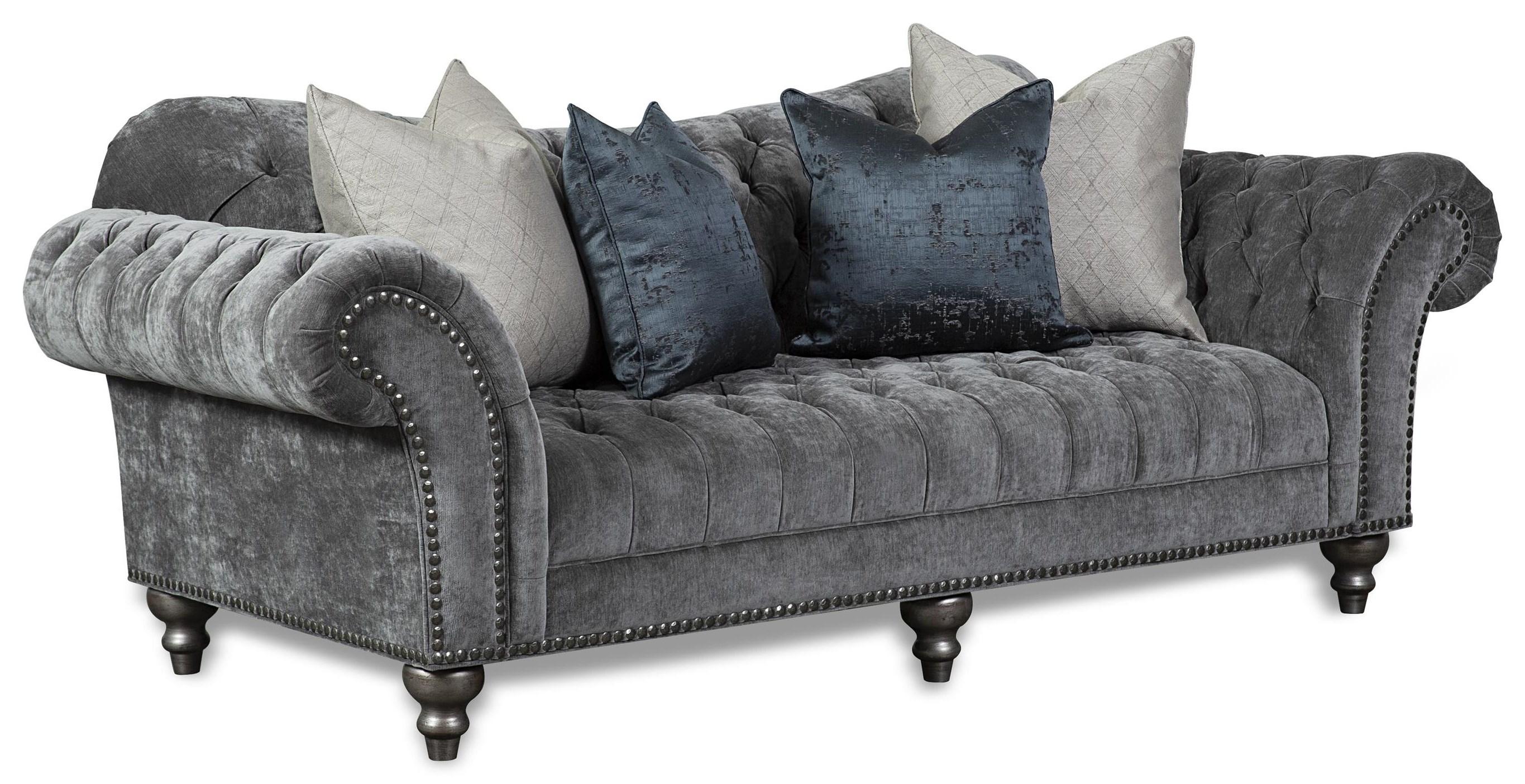 Lorraine Tufted Sofa by Aria Designs at Stoney Creek Furniture