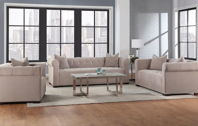 Miranda Apartment Sofa by Aria Designs at HomeWorld Furniture