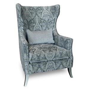 Aria Designs Upholstery Peyton Accent Chair
