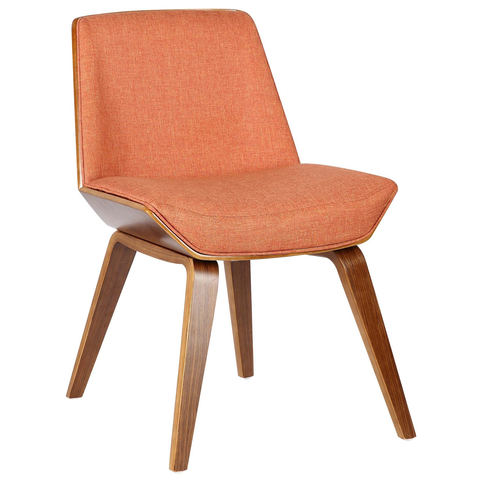 Mid-Century Dining Chair in Walnut Wood
