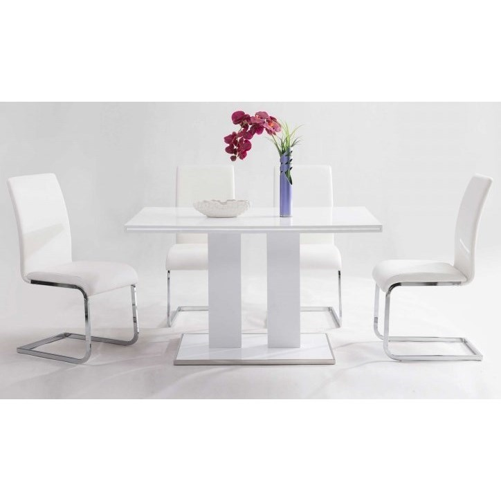 Amanda 5-Piece Dining Set by Armen Living at Fisher Home Furnishings