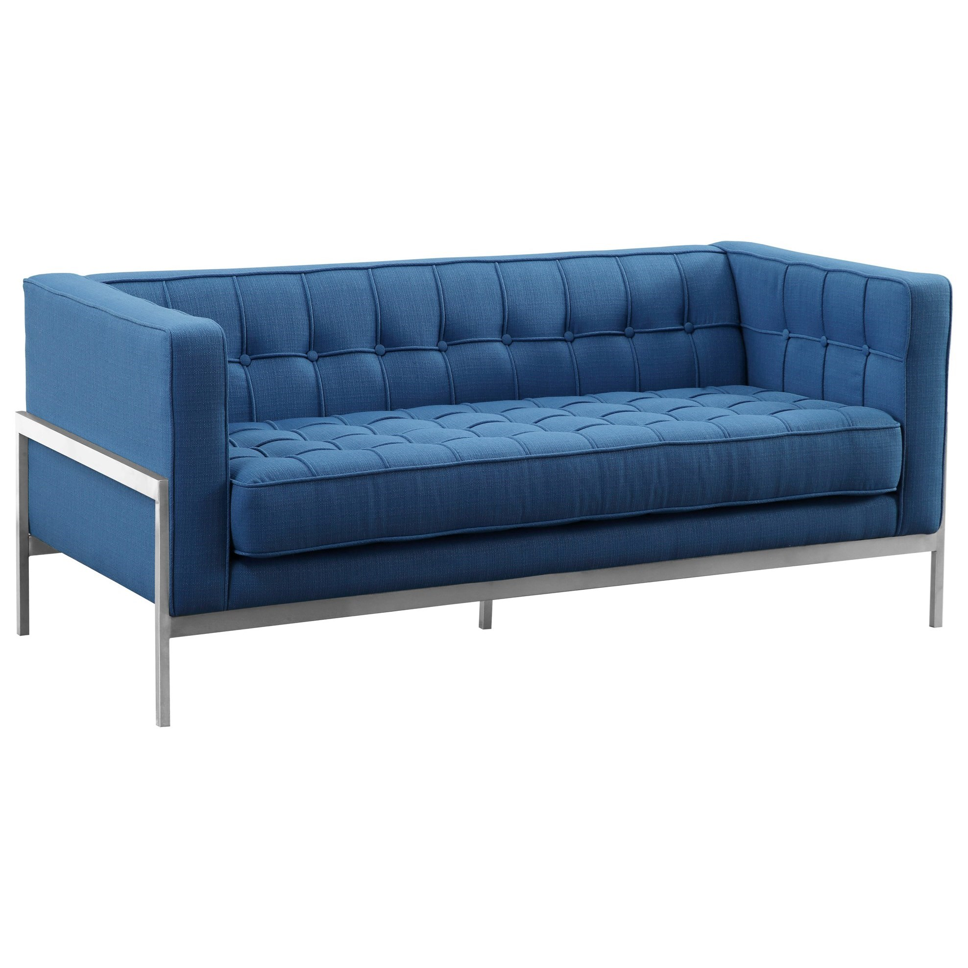Andre Loveseat by Armen Living at Fisher Home Furnishings