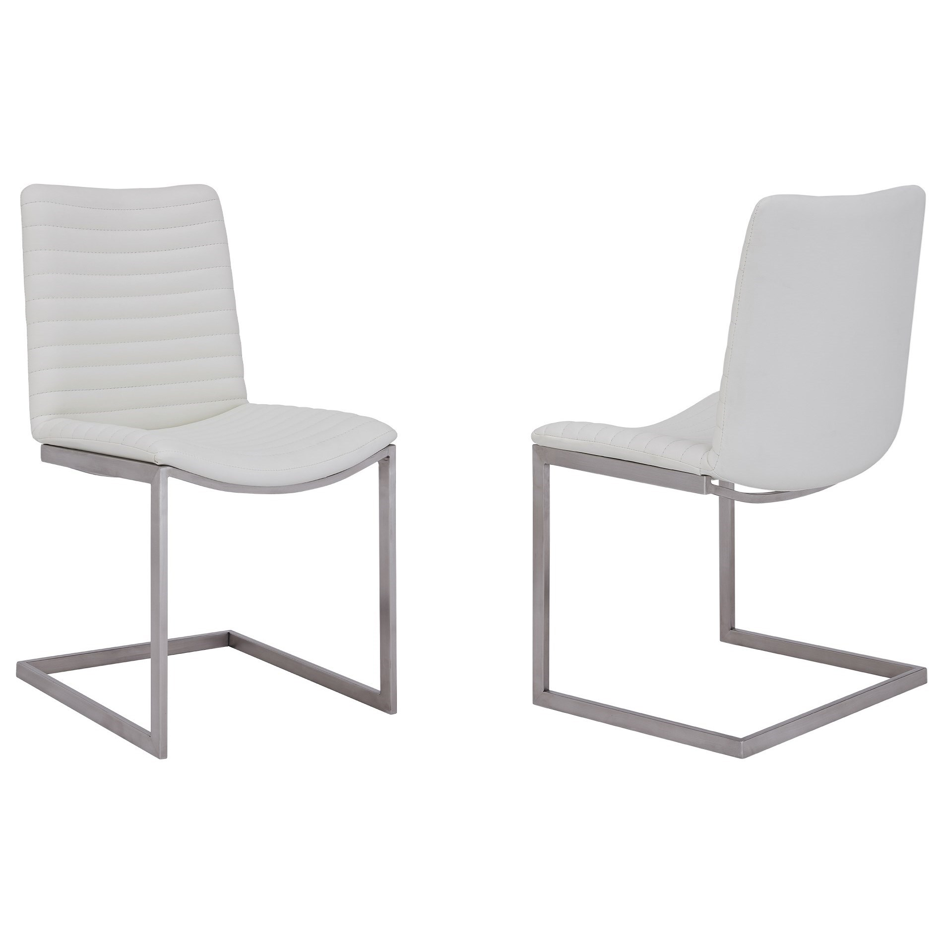 April Dining Chair - Set of 2 by Armen Living at Fisher Home Furnishings