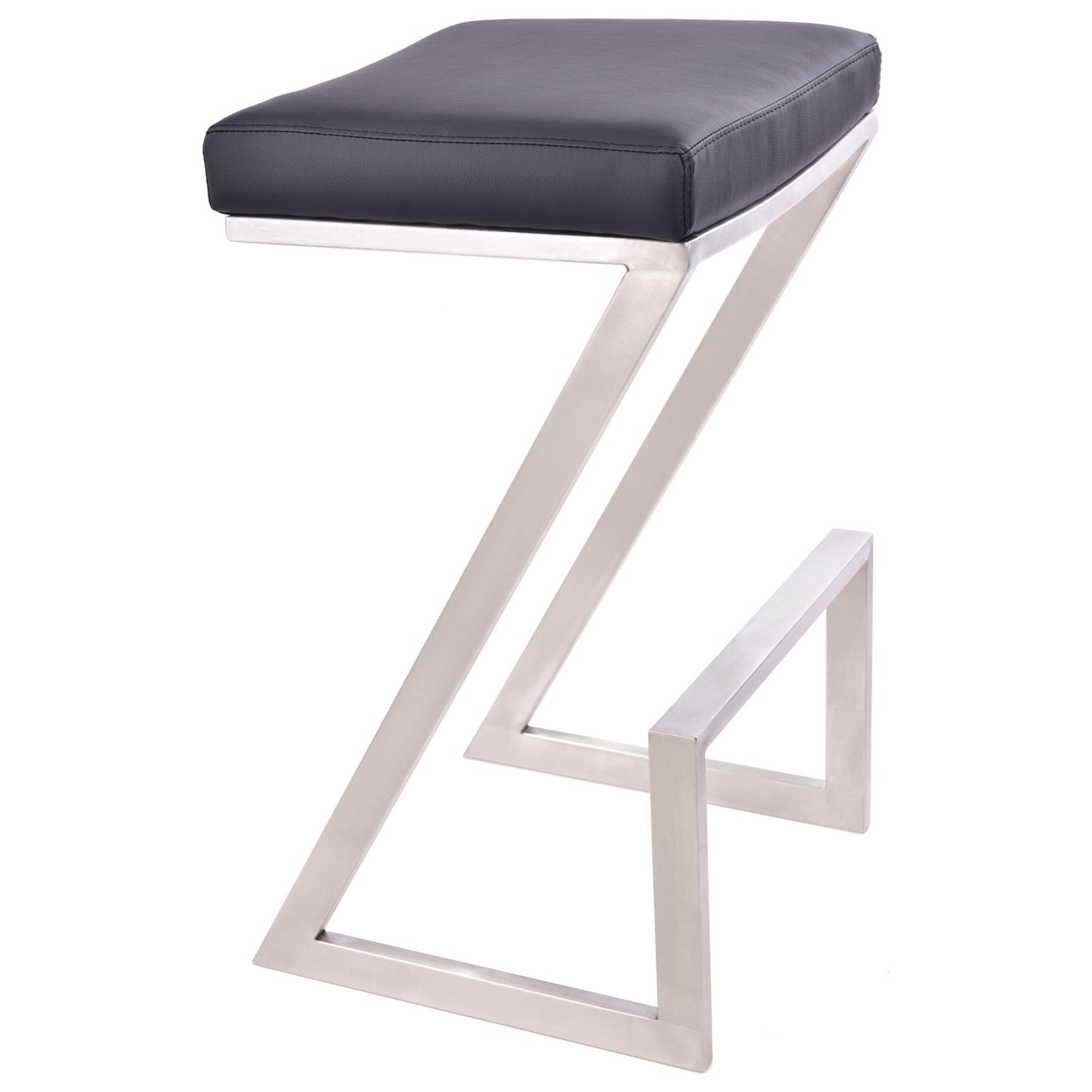 """Atlantis 26"""" Counter Height Backless Barstool by Armen Living at Fisher Home Furnishings"""