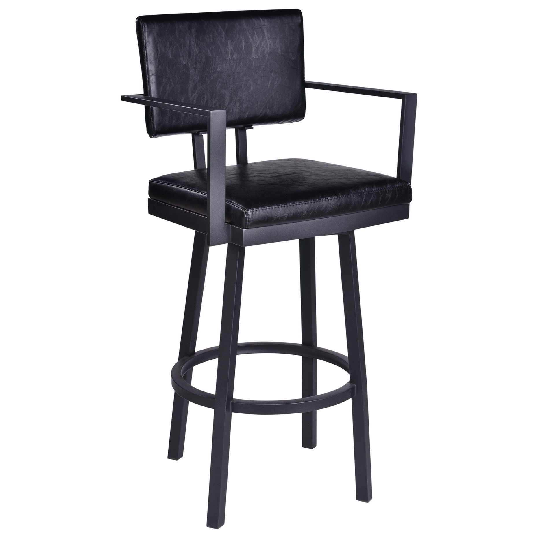 """26"""" Counter Height Barstool with Arms"""