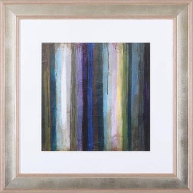 Abstract and Contemporary Striations II Wall Art by Art Effects at Dunk & Bright Furniture
