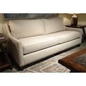 A.R.T. Furniture Inc  Logan  Transitional Small Scale Sofa with Nailheads