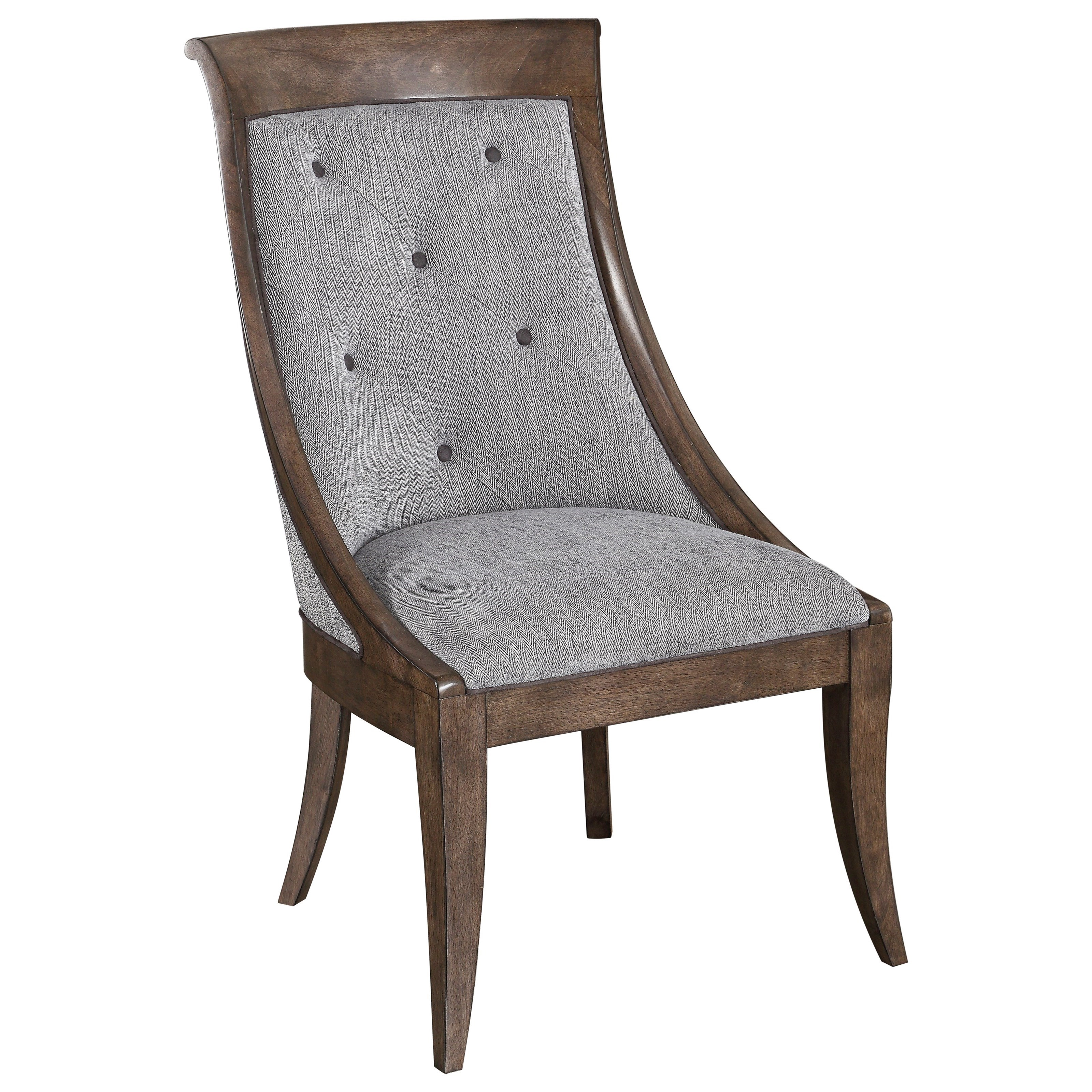 Landmark Tufted Sling Chair by A.R.T. Furniture Inc at Hudson's Furniture