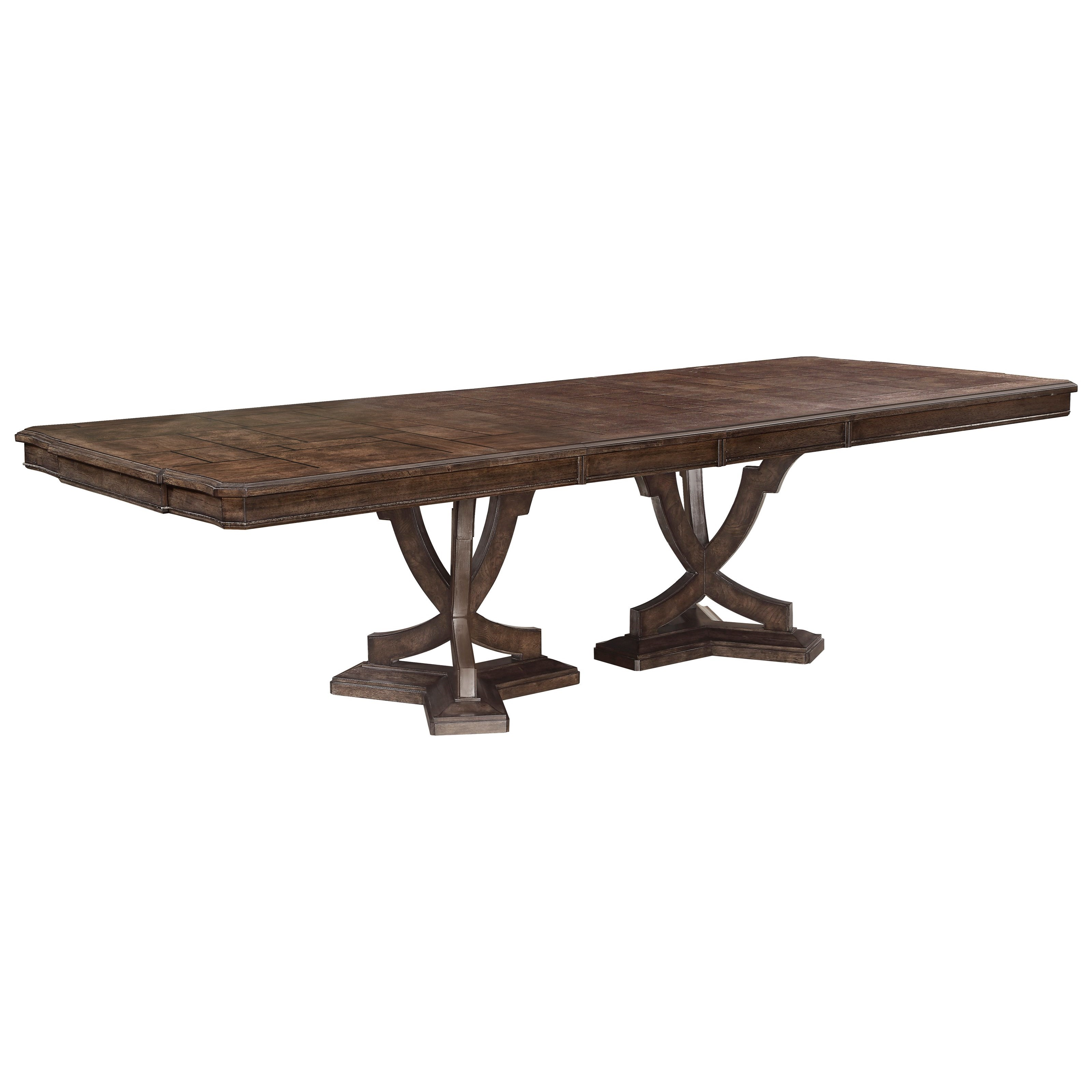 Landmark Double Pedestal Dining Table by A.R.T. Furniture Inc at Story & Lee Furniture