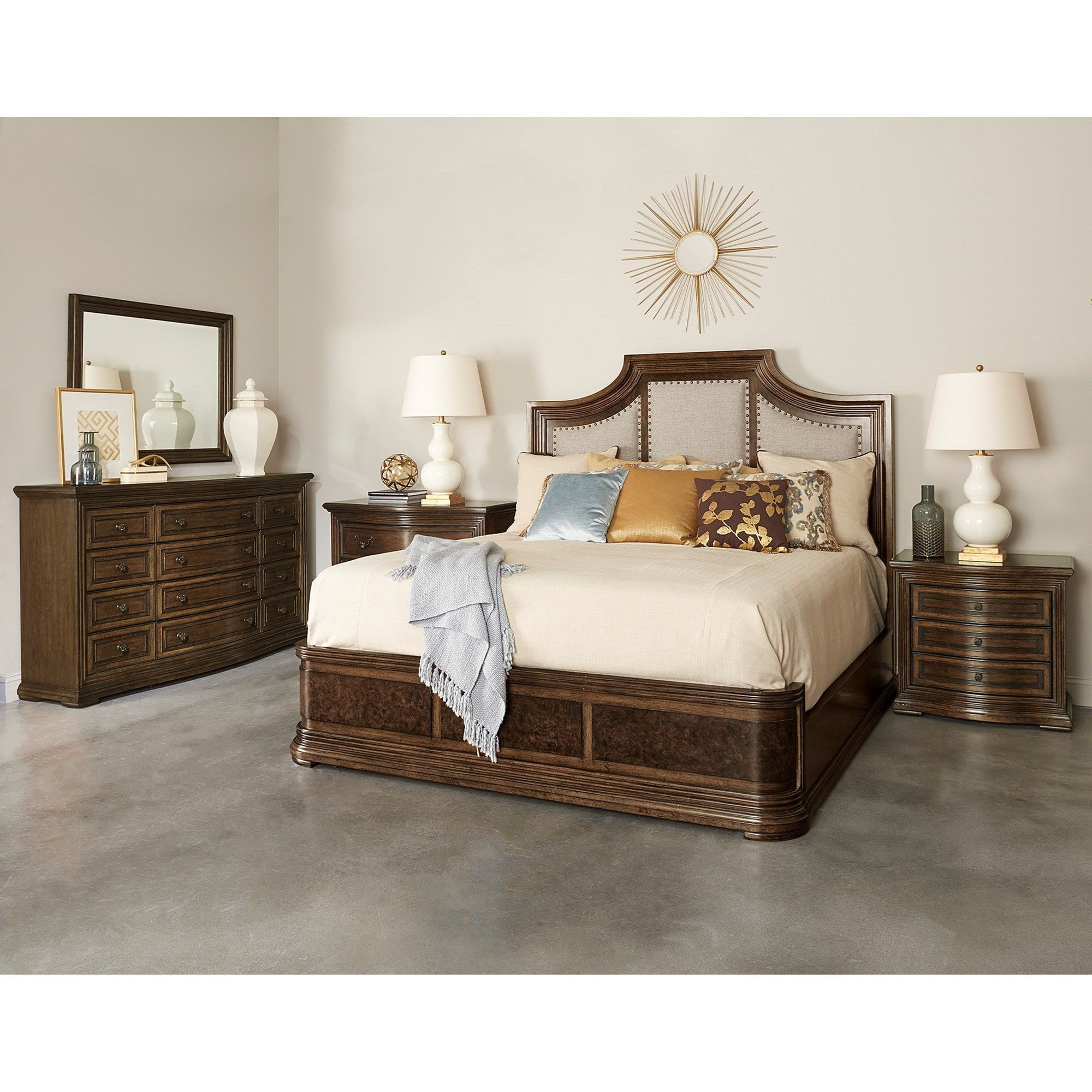 Kingsport  King Bedroom Group by A.R.T. Furniture Inc at Michael Alan Furniture & Design