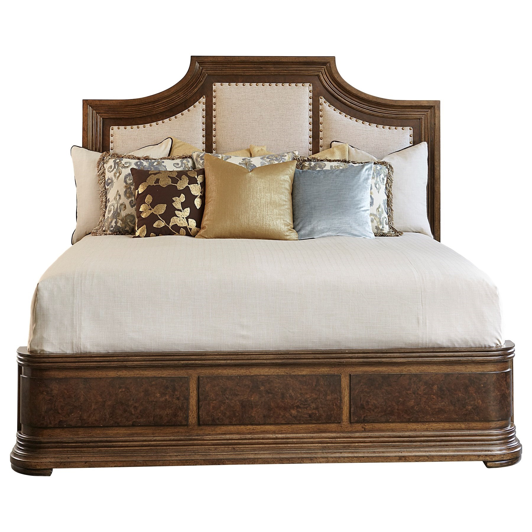 Kingsport  Queen Upholstered Panel Bed  by A.R.T. Furniture Inc at Michael Alan Furniture & Design