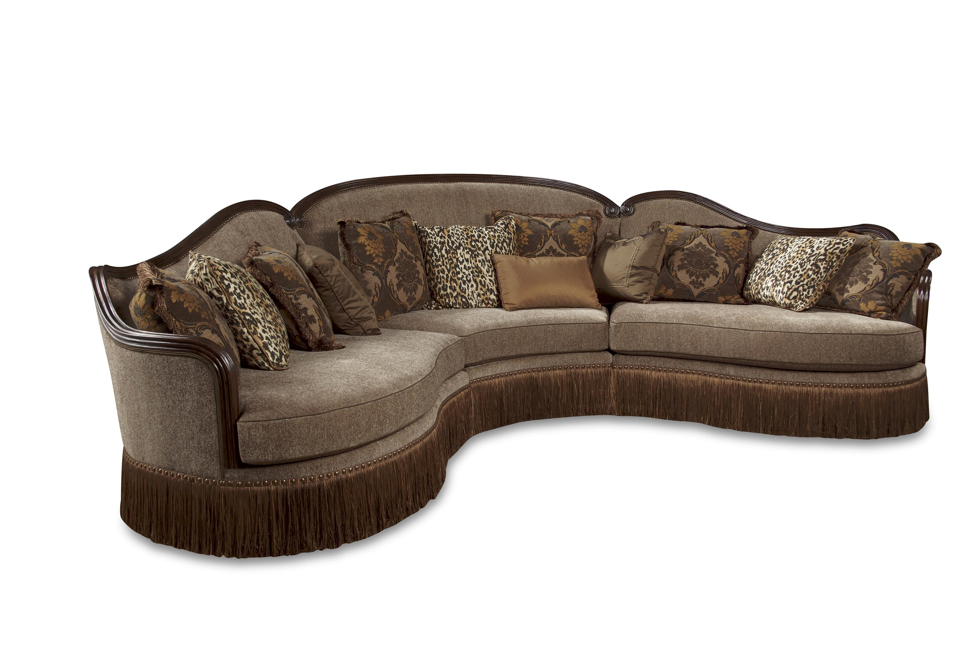 A.R.T. Furniture Inc Giovanna Sectional Sofa - Item Number: 509509+509511+509517--5427AB