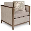 A.R.T. Furniture Inc Cityscapes Upholstery Astor Chair  - Item Number: 532503-5126AA