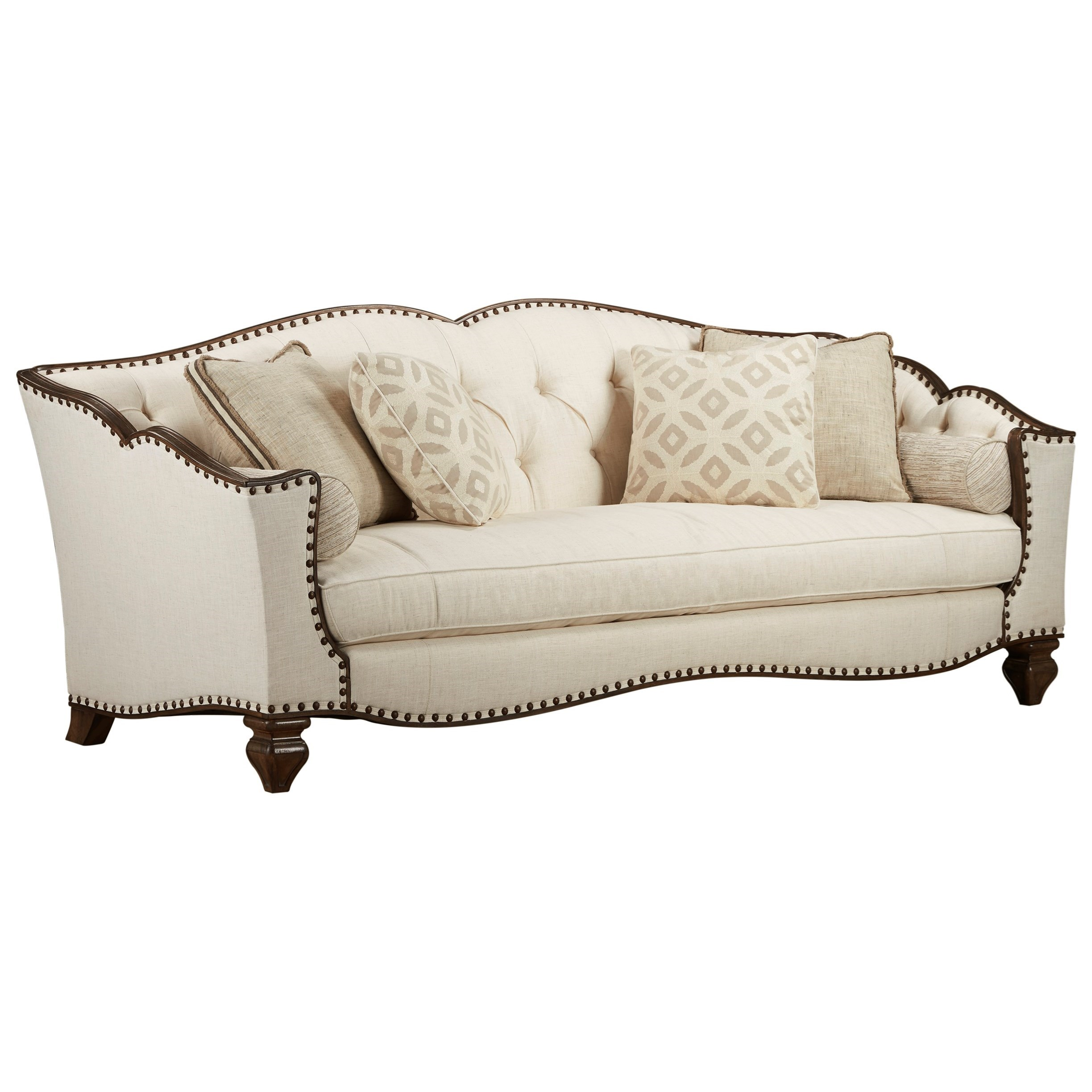 Vintage Salvage Upholstery Sofa by A.R.T. Furniture Inc at Dream Home Interiors