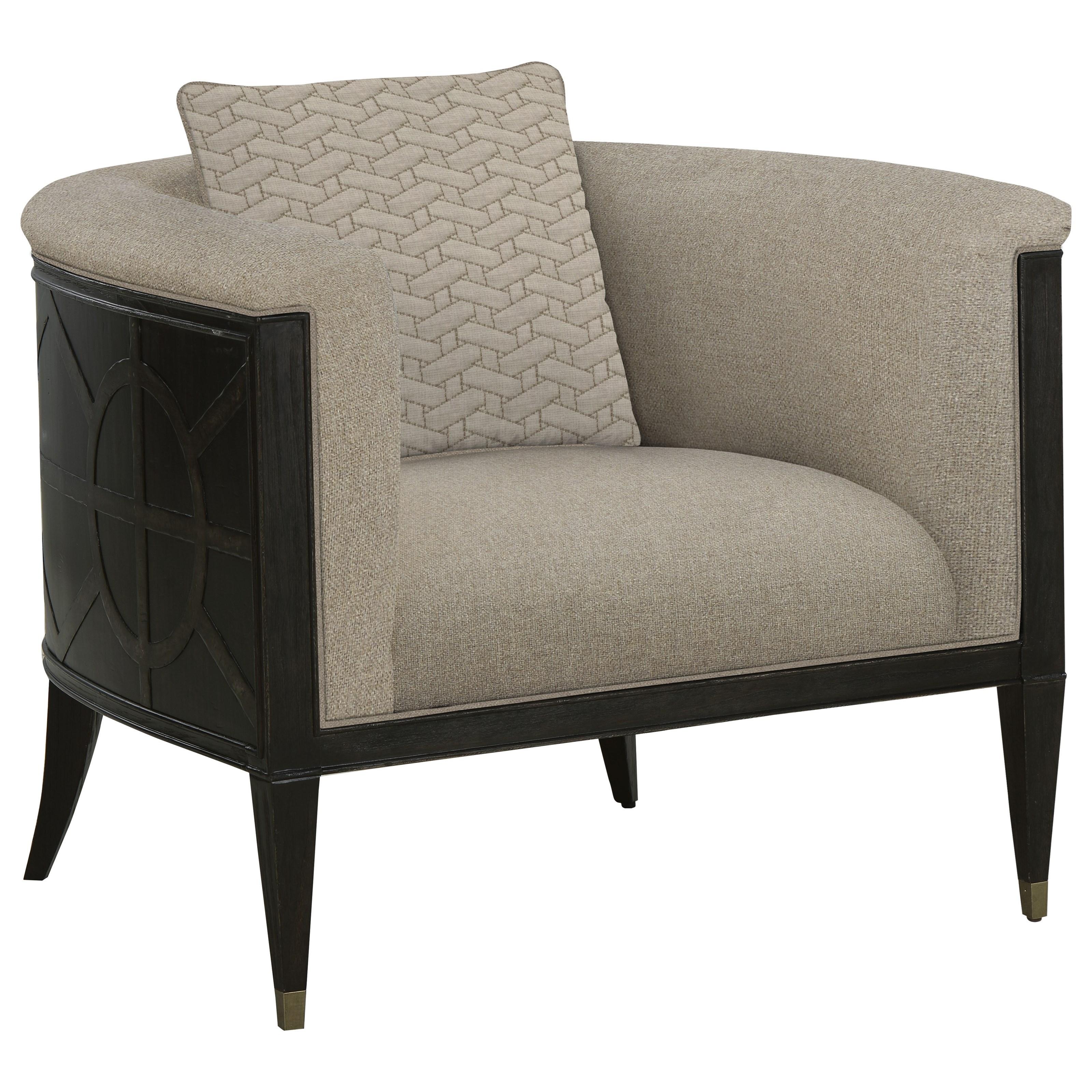 Timber Barrel Chair