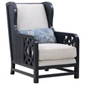 Compositions 551 - Summer Creek Uph  Accent Wing Chair - Item Number: 551514-5012AA