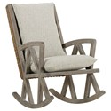A.R.T. Furniture Inc 551 - Summer Creek Uph  Rocking Chair - Item Number: 551518-5002AA