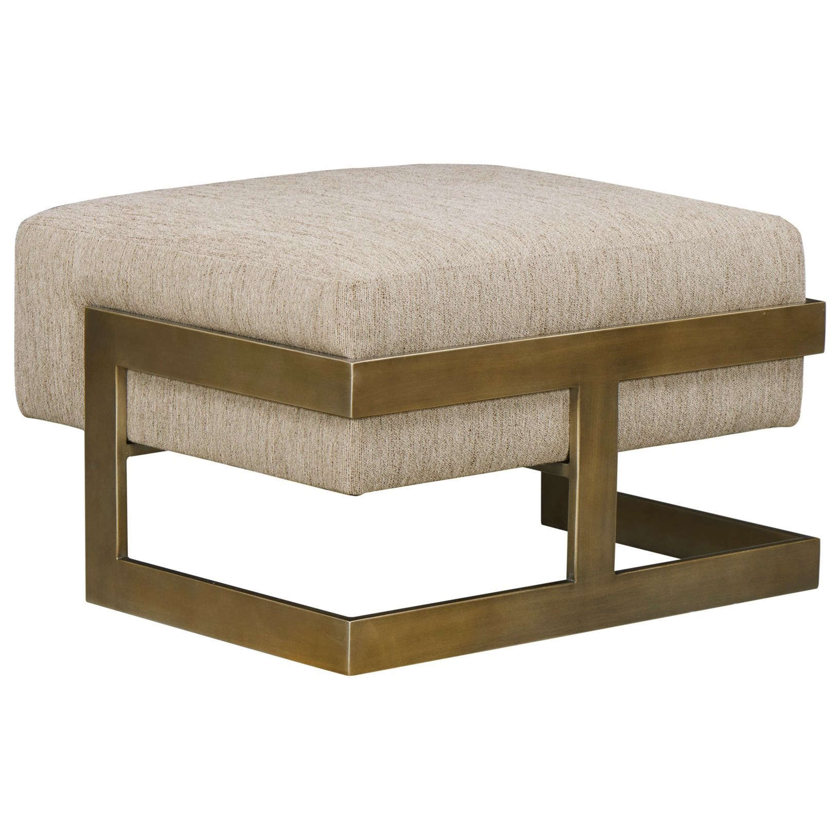WoodWright Upholstery Ottoman by A.R.T. Furniture Inc at Dream Home Interiors
