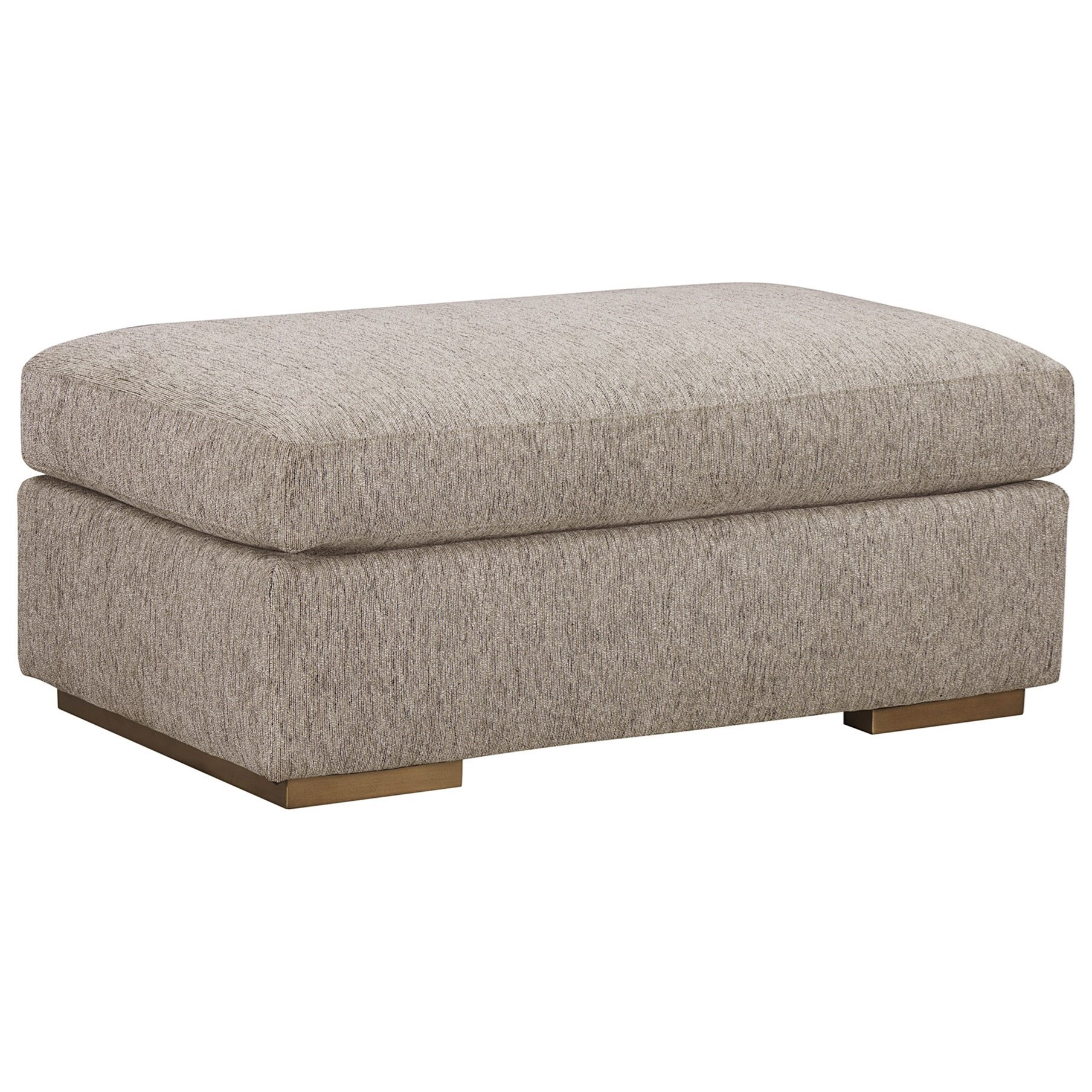 WoodWright Upholstery Ottoman by A.R.T. Furniture Inc at Home Collections Furniture
