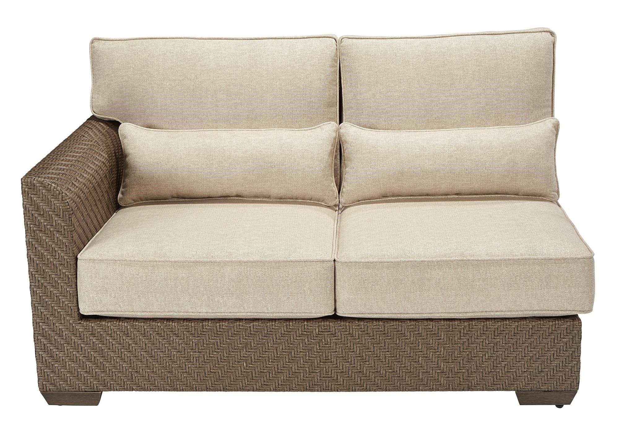 A.R.T. Furniture Inc 933-Arch Salvage Left Arm Facing Loveseat - Item Number: 533512-4124