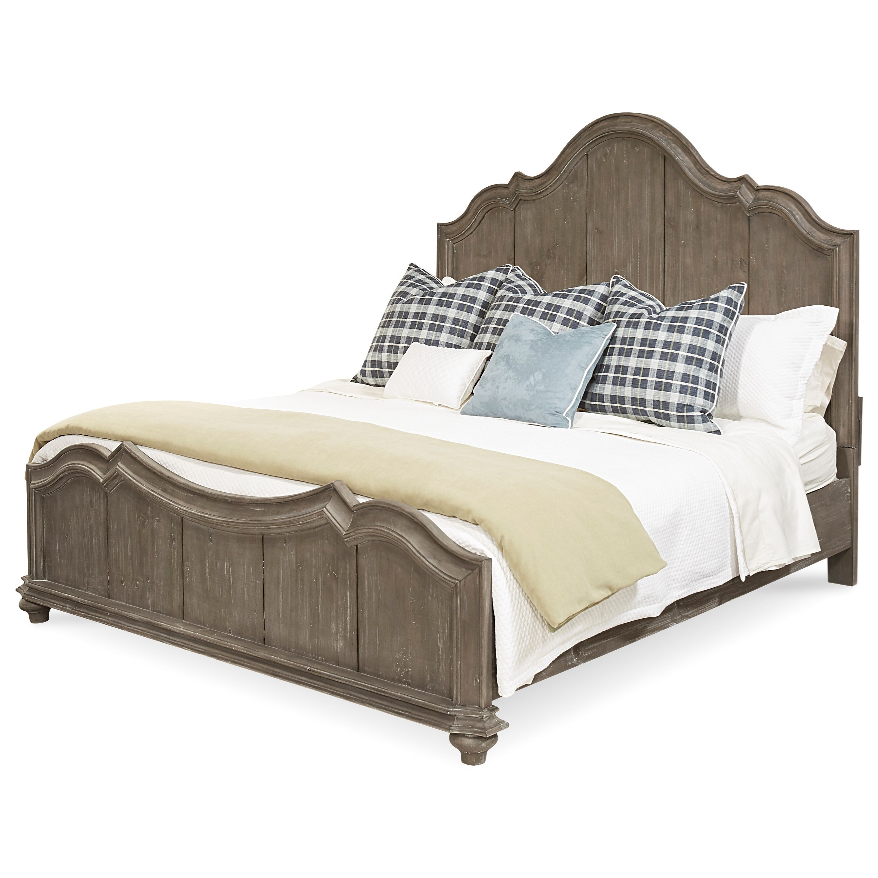 A.R.T. Furniture Inc Allie Queen Panel Bed - Item Number: 404135-2639