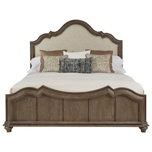 A.R.T. Furniture Inc Allie Queen Upholstered Panel Bed