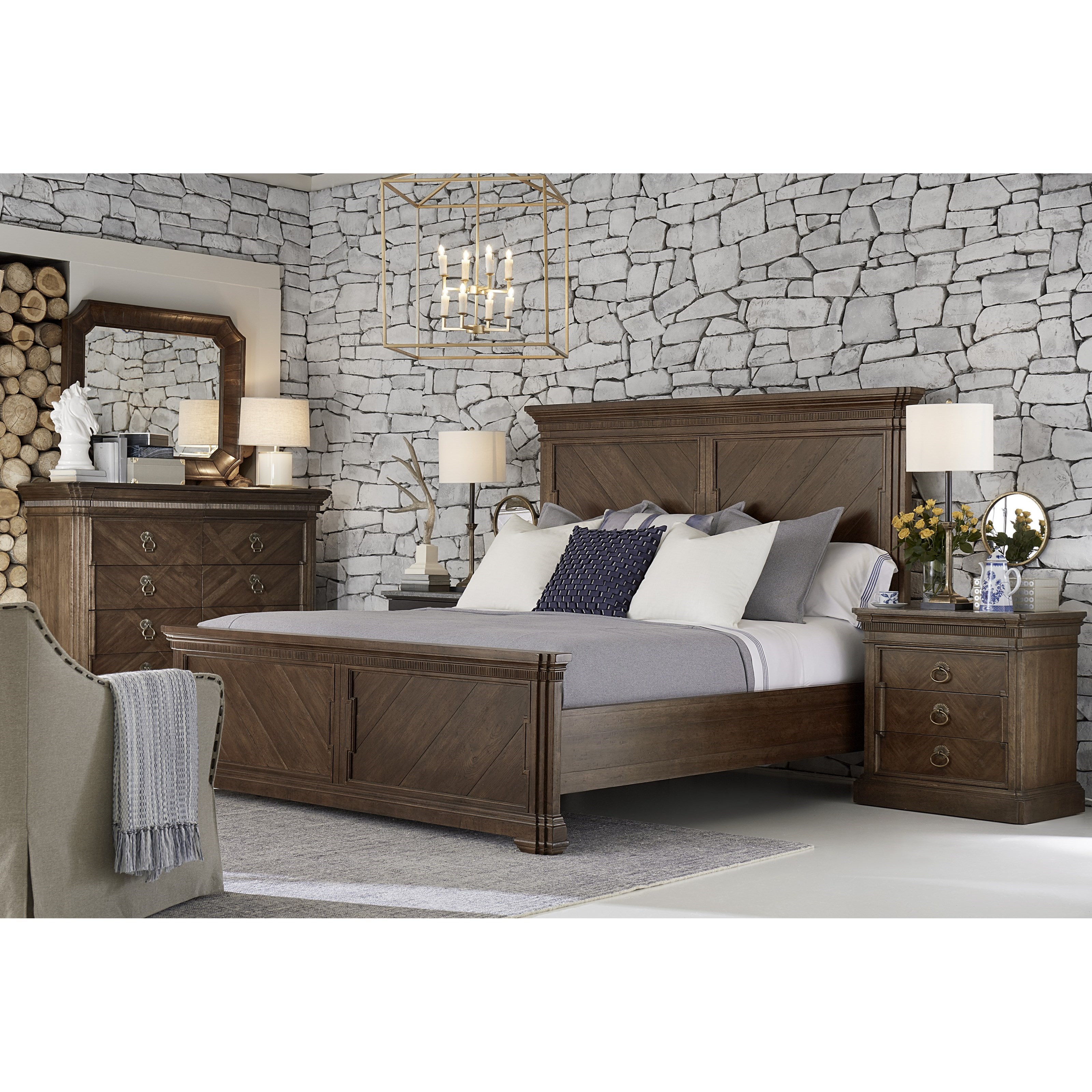 American Chapter Queen Bedroom Group by A.R.T. Furniture Inc at Home Collections Furniture