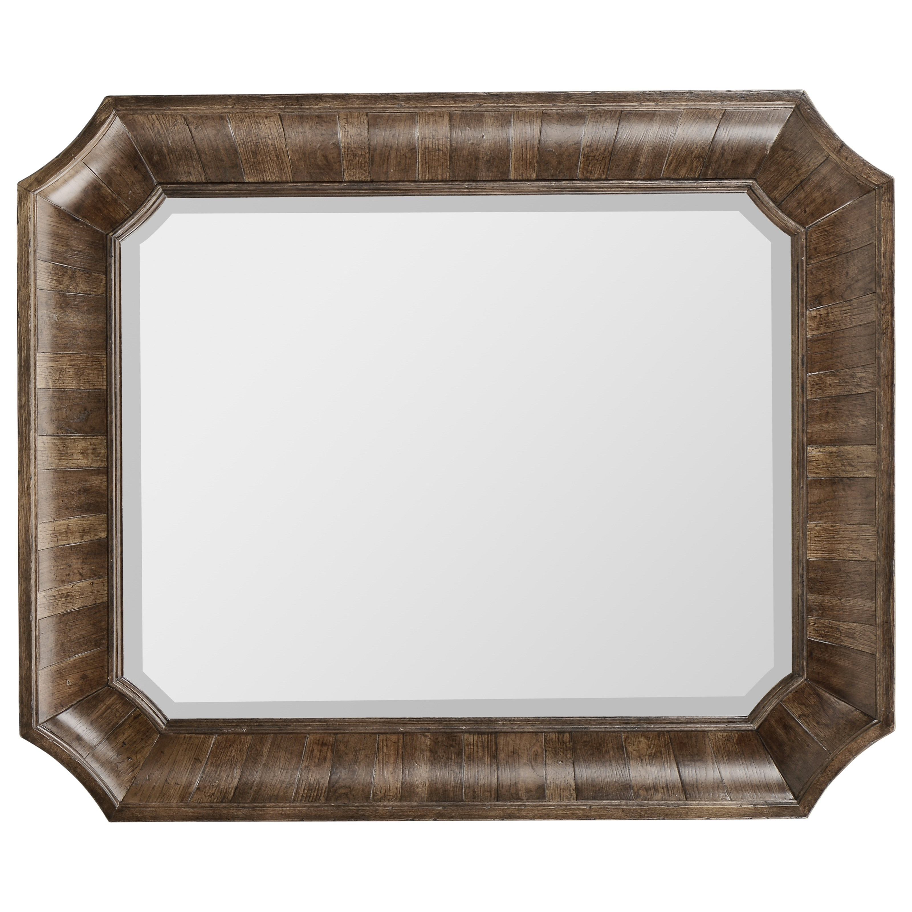 American Chapter Barrel Stave Mirror by A.R.T. Furniture Inc at Home Collections Furniture