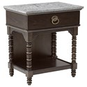The Great Outdoors American Chapter Copperline Bedside Table - Item Number: 247140-2936
