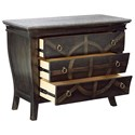 A.R.T. Furniture Inc American Chapter Brace & Bit Bedside Table with Granite Top