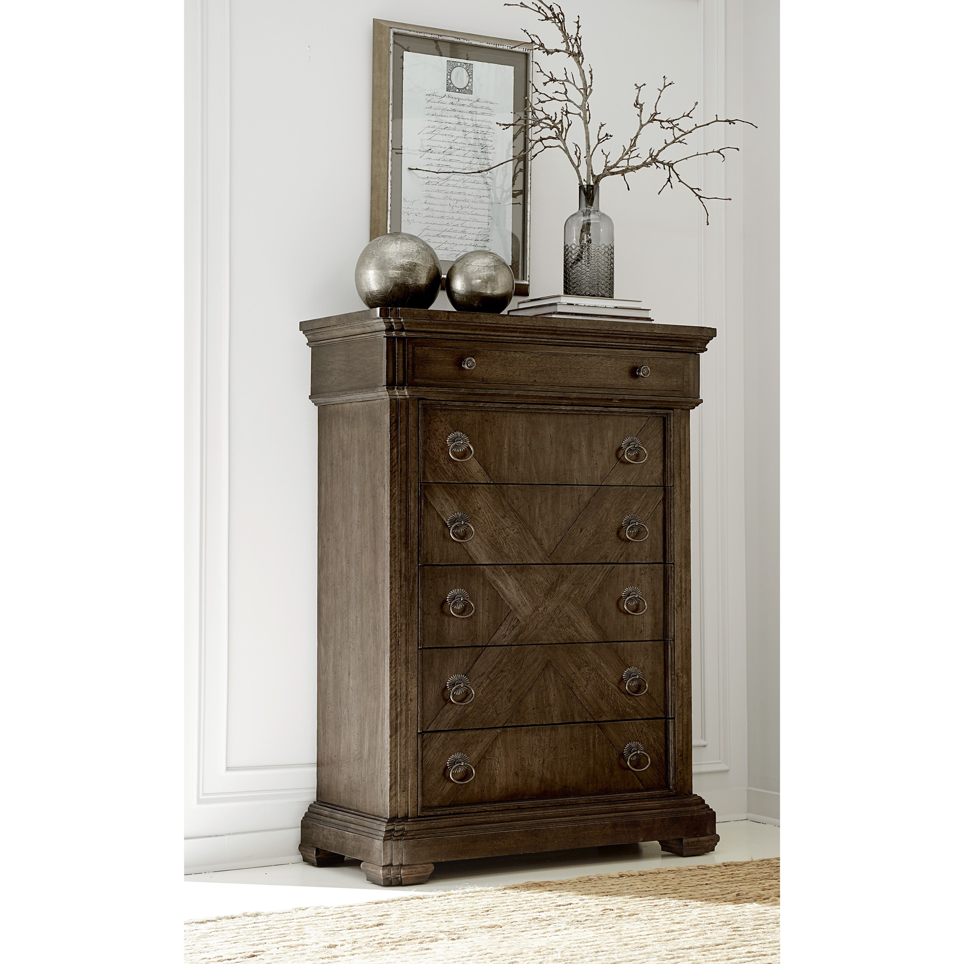 National Bedroom Furniture: A.R.T. Furniture Inc American Chapter 247150-2912 Grand