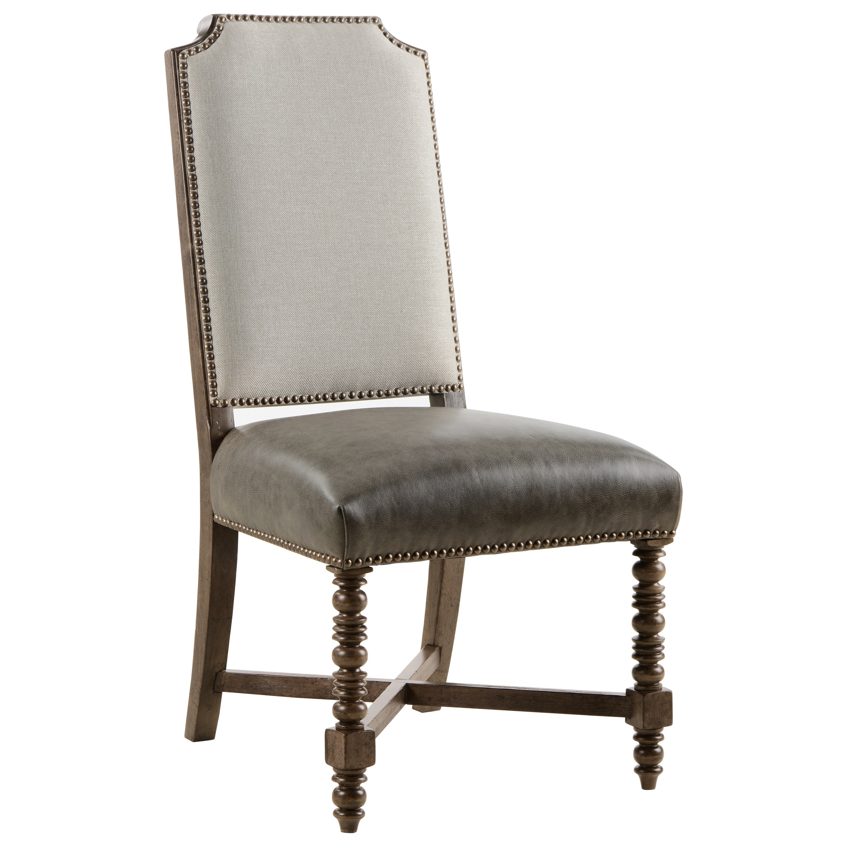 American Chapter Distiller's Upholstered Back Side Chair by Klien Furniture at Sprintz Furniture