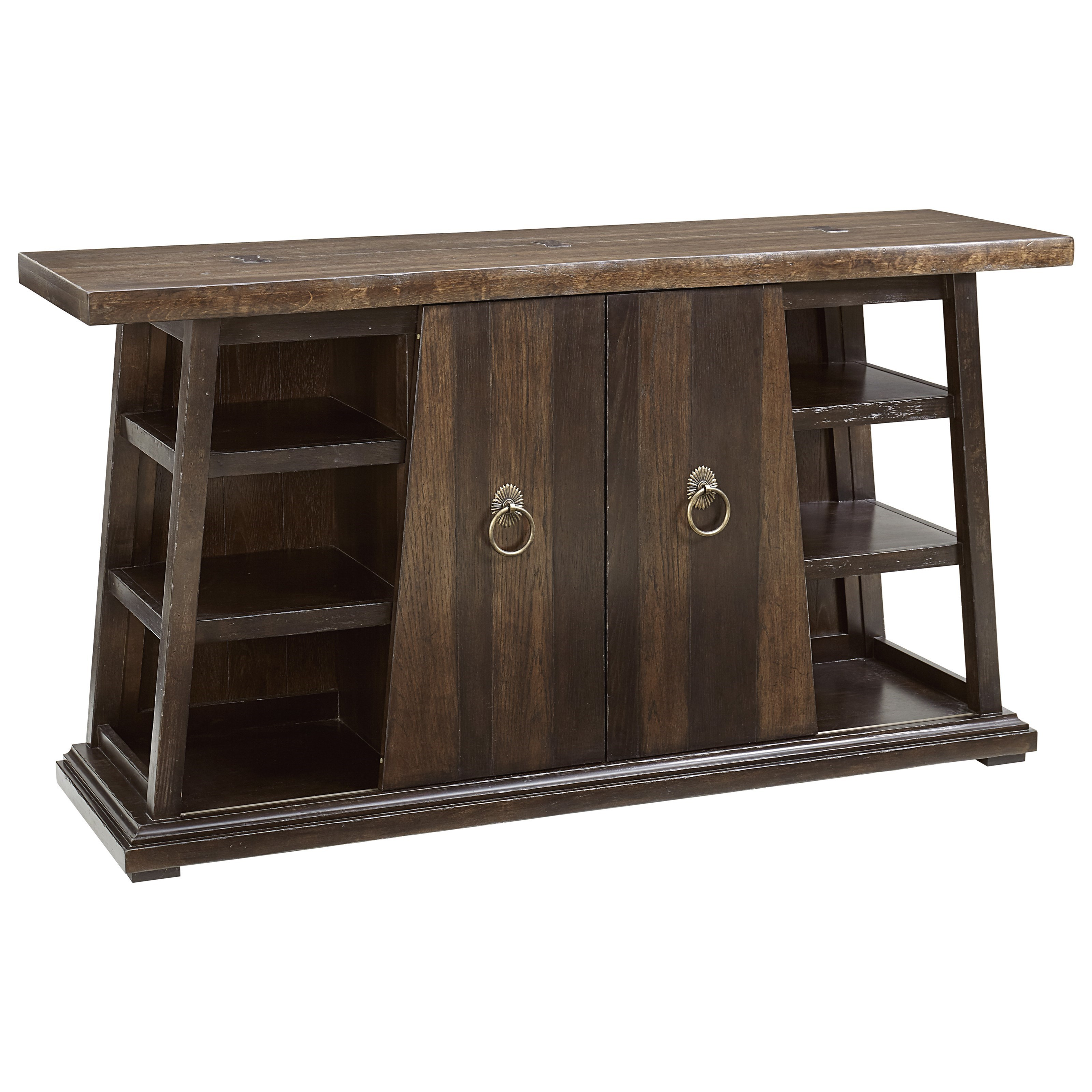 American Chapter Live-Edge Buffet Server by A.R.T. Furniture Inc at Home Collections Furniture