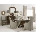 A.R.T. Furniture Inc American Chapter Mercury Glass Buffet