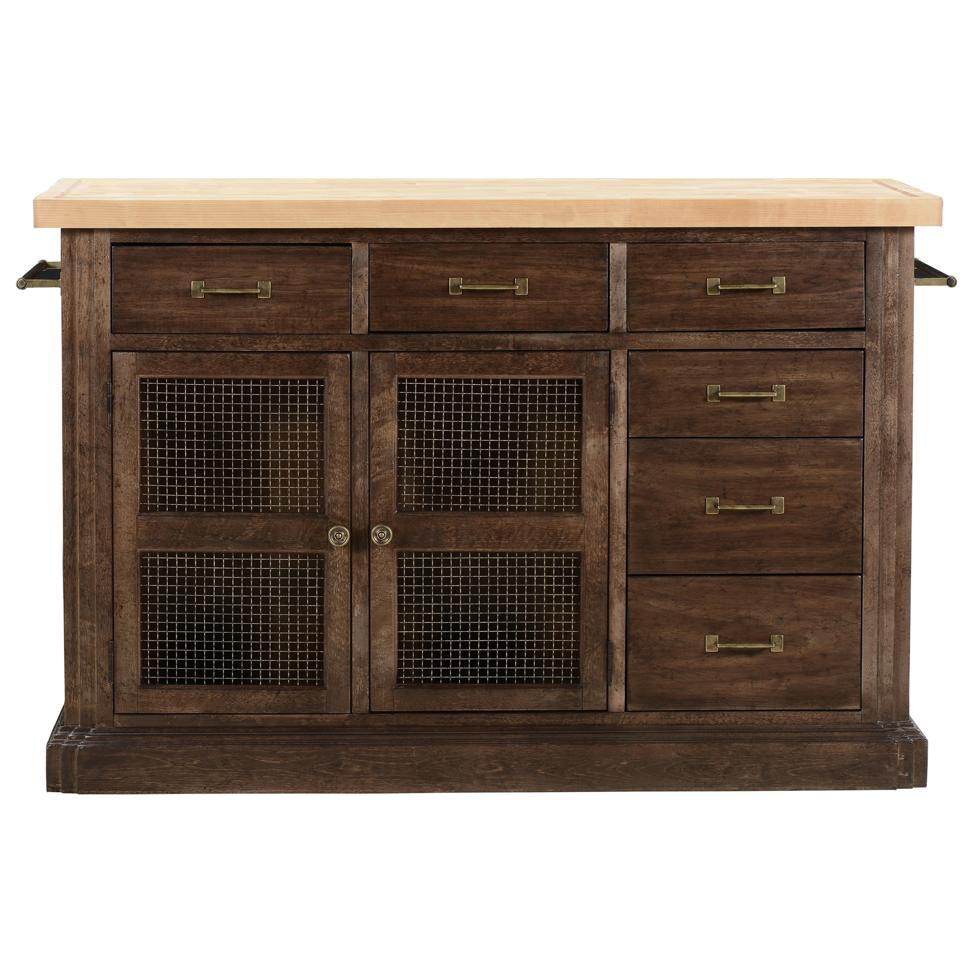 American Chapter Makers Island Bar by A.R.T. Furniture Inc at Home Collections Furniture