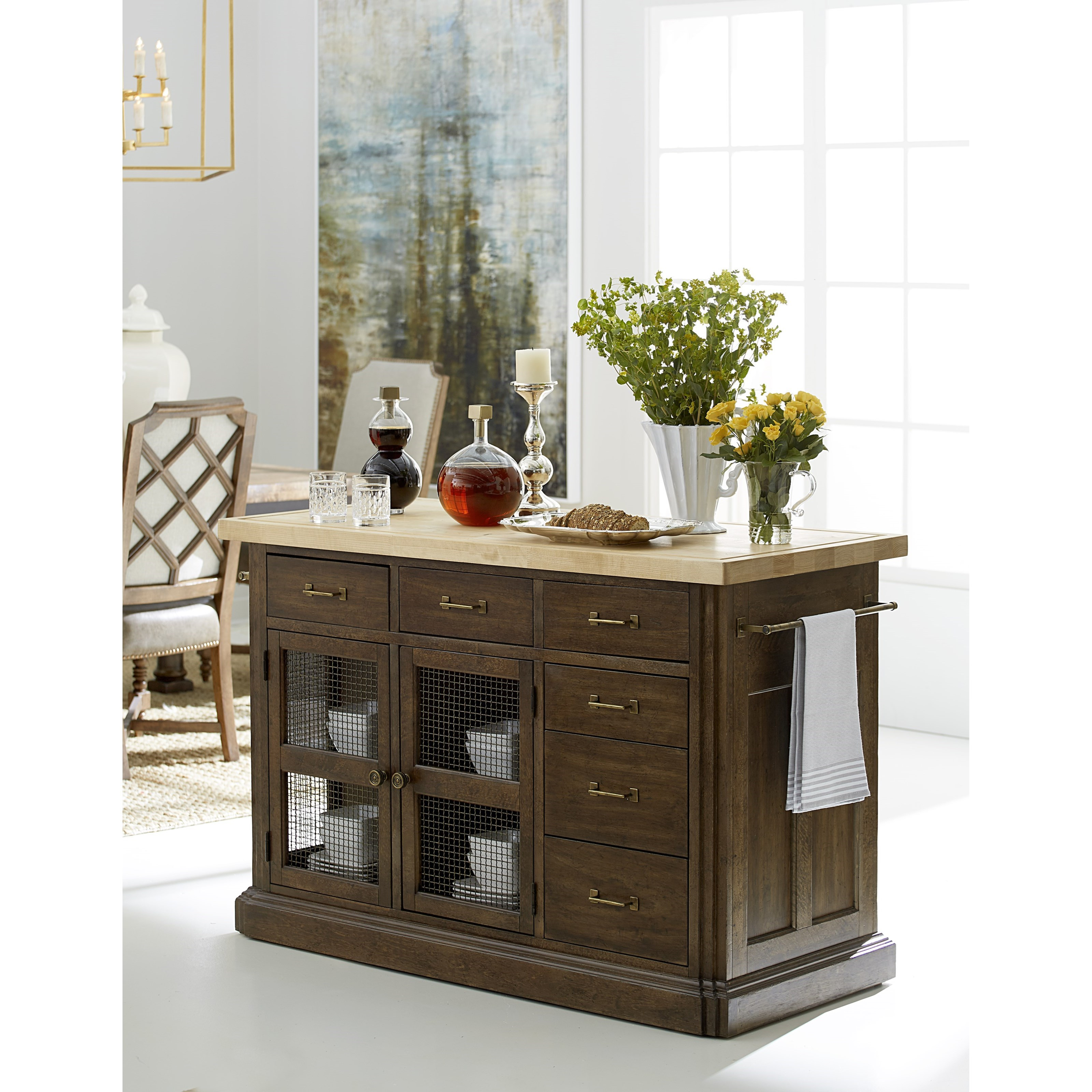 Top American Furniture Makers: A.R.T. Furniture Inc American Chapter Makers Island Bar