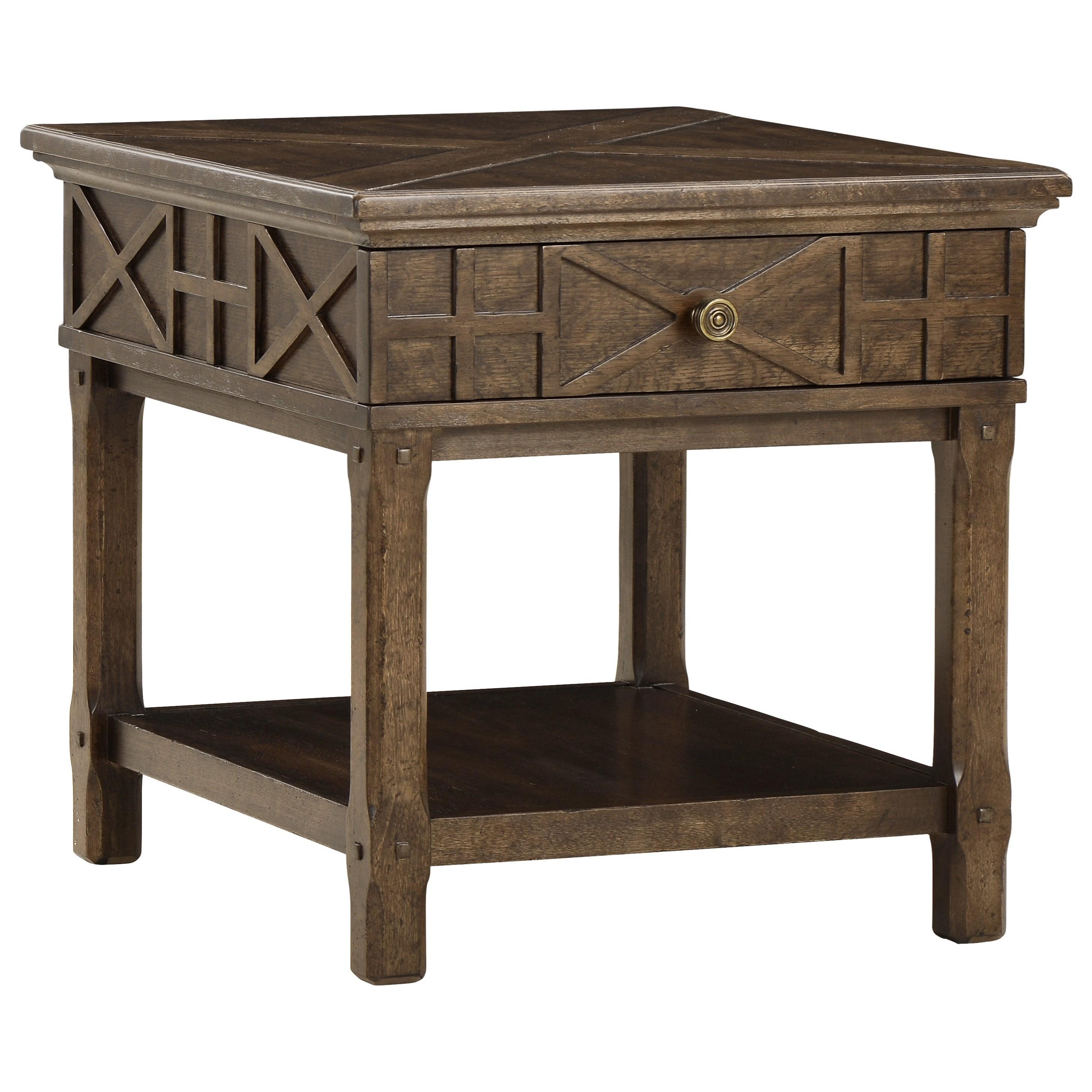Veranda Drawer End Table