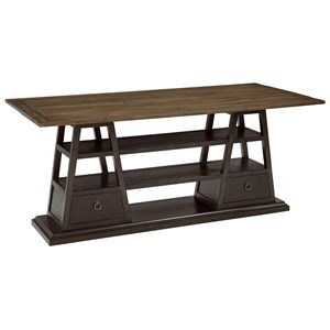 A.R.T. Furniture Inc American Chapter Live-Edge Flip-Top Console Table
