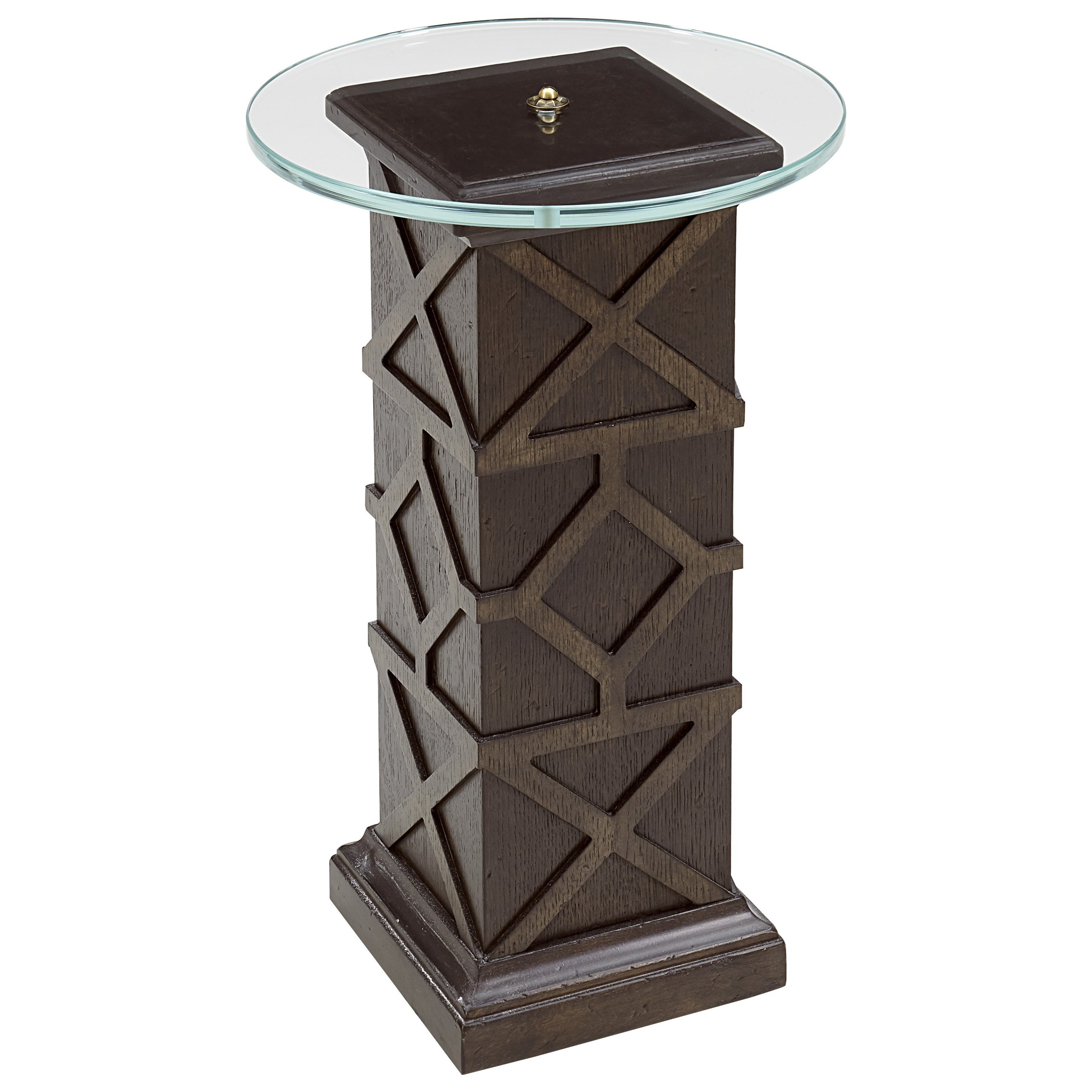American Chapter Quarter Pole Spot Table by A.R.T. Furniture Inc at Home Collections Furniture