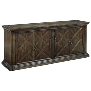 Klien Furniture American Chapter War Admiral Media Console