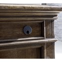 A.R.T. Furniture Inc American Chapter Colonel's Executive Desk with Inset Leather Top