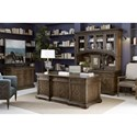 A.R.T. Furniture Inc American Chapter Colonel's Credenza & Hutch